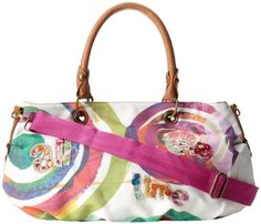 Desigual Handbags Bols Big Bag 31X5572 Satchel,Blanco,One Size Desigual, To SEE or BUY just CLICK on AMAZON right here http://www.amazon.com/dp/B009OH9BN2/ref=cm_sw_r_pi_dp_zJAvtb1448VY0TK5