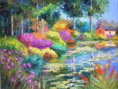 Jean Marc Janiaczyk 'The Pond Cottage'