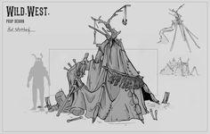 ArtStation - Glenn van Driel's submission on Wild West - Prop Design
