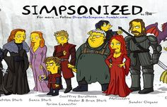The Simpsons Meets Game of Thrones