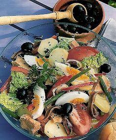 Les petites et grandes gourmandises de Zem.: Les Salades