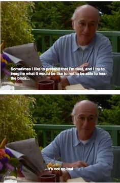 Larry's ponderings - Curb your Enthusiasm