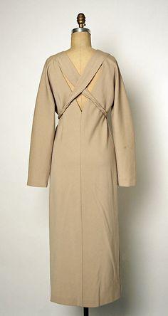 Geoffrey Beene fall/winter 1994–95 Culture: American Medium: wool