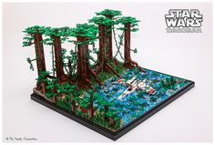 Awesome Dagobah Moc by The Steads