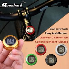 Bicycle Stem Cap Stopwatch