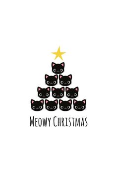 This would be such a cute Christmas shirt! Noel Christmas, Christmas Quotes, Christmas Cats, Christmas Humor, All Things Christmas, Christmas Nativity, Wallaper Iphone, Funny Xmas, Cat Quotes