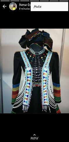 African Outfits, African Attire, African Dress, African Style, African Fashion, Women's Fashion, African Beads, African Jewelry, Xhosa Attire