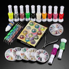 20 Best Nail Art Kits Images On Pinterest Nail Art Kits Uv Gel