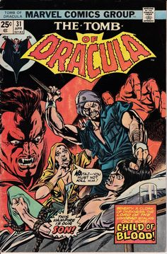 Tomb of Dracula 1972 1st Series 31  April 1975 by ViewObscura, $4.00