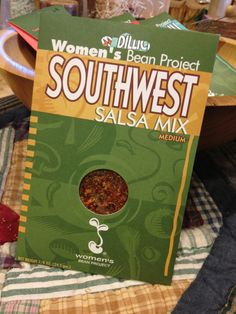 Try our spin on Women's Bean Project's Southwest Salsa Mix with some easy to make homemade tortilla chips. We carry a large selection of gourmet foods from the Women's Bean Project. The Women's Bean Project is a non-profit in Denver dedicated to breaking the cycle of poverty and unemployment for Colorado women. www.frogonalimb.com