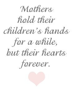 favorite day! Mother Day..so happy to spend it tomorrow with my entire family..especially B! xo