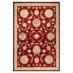 Kas Rugs Traditional Mahal Red 5 ft. 3 in. x 7 ft. 7 in. Area Rug-CAM735553X77 at The Home Depot
