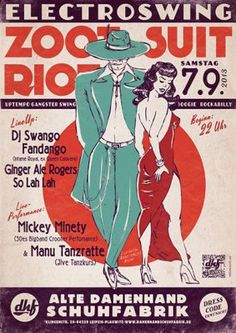 20130907 electroswing zoot suit riot flyer front