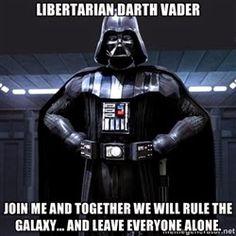 Fishermagical Thought: Libertarian Darth Vader
