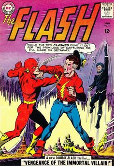 The Flash Vandal Savage tries to exact vengeance on the retired Justice Society, leading Barry to to help Jay free the other JSA members. Dc Comics, Action Comics, Flash Comics, Barbara Gordon, Lois Lane, Best Comic Books, Comic Books Art, Book Art, Comic Art