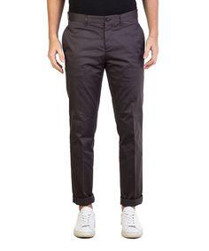 PRADA Prada Men'S Gabardine Slim Fit Chino Pants Grey'. #prada #cloth #pants