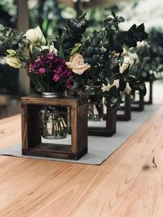 Wedding Isle Decorations, Rustic Wedding Centerpieces, Vase Centerpieces, Rustic Vases, Rustic Weddings, Indian Weddings, Wedding Rustic, Romantic Weddings, Trendy Wedding