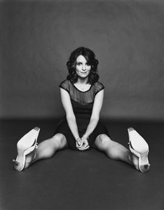 tina fey seems like the coolest person to photograph
