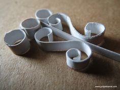 Wrought iron design  paper ironwork  handmade  kağıt ferforje çalışması minyatür…