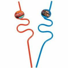 Disney Cars Krazy Straws 2 Pcs by Amscan. $2.12. KRAZY STRAWS CARS 2