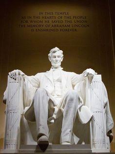 1Lincoln Memorial, Washington, DC.