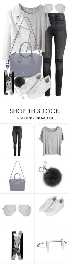 """Untitled #19492"" by florencia95 ❤ liked on Polyvore featuring H&M, Chicnova Fashion, Givenchy, Michael Kors, Victoria Beckham, Topshop, Banana Republic, French Connection, Simply Vera and women's clothing"