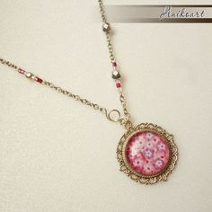 Peach Flowers, Pendant Necklace, Shop, Jewelry, Jewlery, Jewels, Jewerly, Jewelery, Drop Necklace