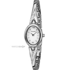 Ladies Oval High Shine Watch Our Price: TimeCentre Online is an Authorised Accurist UK Retailer Creating A Brand, Making Out, Watches, Lady, Wrist Watches, Wristwatches, Tag Watches, Watch