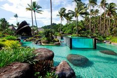 High-end luxury: The 3,200-acre Laucala Island, in the Fijian Pacific archipelago, is owned by Dietrich Mateschitz, CEO of Red Bull