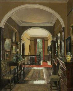 The Landing in Summer, Mary Dawson Elwell, 1930, Grundy Art Gallery