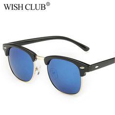 Hot !  Retro Rivet Polarized Sunglasses Men 2017 Classic Brand Designer Women Sunglasses Uv400 Fashion Male Eyeglasses Unisex #Affiliate