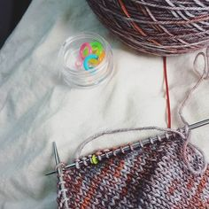 I am so so excited to see this pattern in actual knitting the concept sounds amazing and squeee socks in my yarn! --------- These tiny neon stitch markers from @little__greygirl are perfect for a spot of heel turning on my new sock design in progress. It beats using my wedding ring which is what I often have to resort to. Yarn is the fabulous Rusty Ferret from @fluphshop  #stashdash #stashdash2016 #louisetilbrookdesigns #fluph #rustyferretyarn #designersofinstagram #knittersofinstagram…
