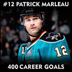 Patrick Marleau Patrick Marleau, San Jose Sharks, Toronto Maple Leafs, Career Goals, Nhl, Hockey, Baseball Cards, Sports, People