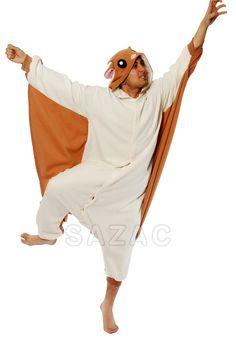 Kigurumi Shop   Flying Squirrel Kigurumi - Animal Onesies & Pajamas by Sazac