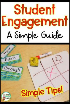 Use these 5 Brilliant Strategies for Student Engagement to grab and keep students' attention today. These simple but powerful strategies will spark enthusiasm in you and every student in your classroom to make this your best year ever! Reading Skills, Teaching Reading, Teaching Math, Teaching Ideas, Teacher Blogs, Teacher Resources, Teacher Stuff, Teaching Strategies, Division Strategies