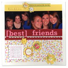 NL Jillibean Soup Kit Best Friends Layout