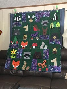 Look at John's terrific version of the Woodland Critters quilt! I love how the color choices make it look like the woods at twilight. :-) Pattern: https://shop.shinyhappyworld.com/collections/quilt-patterns/products/woodland-critters-quilt-pattern https://www.facebook.com/photo.php?fbid=2018463254846600&set=gm.1314256355354242&type=3&theater