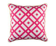 KAS Tora Cushion Pink