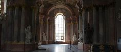 Wnętrze Mauzoleum Piastów Świdnickich w Krzeszowie