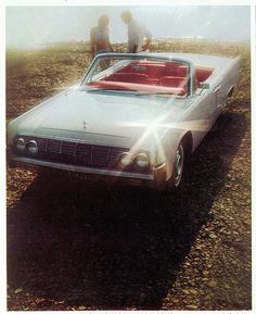 """1964 Lincoln Continental Convertible.....Frank sold this car to Mel Carson,the gentleman """"Humpy"""" Wheeler hired to run the Auto Fairs at Charlotte Motor Speedway"""