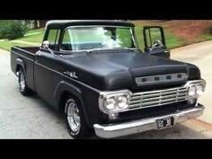▶ 1959 Ford F100 Pickup Truck Intro Basics Issues & Info - YouTube