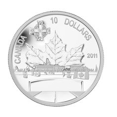 $10 Fine Silver Coin – Highway of Heroes (2011). The official designation of Highway of Heroes was born in 2002 and refers to the passageway between Trenton and Toronto, known for the solemn journey of fallen soldiers and their families.  Proceeds from this coin were donated to the Afghanistan Repatriation Memorial and the Military Families Fund.