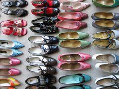 the '60s mod ones! #vintage #shoes