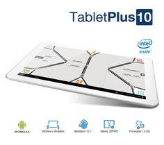 """Vexia TabletPlus 10 TabletPlus 10: más ligero, más potente y con más autonomía  TabletPlus 10 es mucho más de lo que puedas imaginar. Su atractivo diseño, grandes prestaciones, alta conectividad e infinidad de aplicaciones no te dejarán indiferente.  - Procesador Intel® Atom™ - Diseño ultrafino y ultraligero - Mayor rendimiento - Zippers Interfaz original e intuitiva. Juego de """"cremalleras"""" para acceder de forma sencilla a las aplicaciones http://www.vexia.eu/es/"""