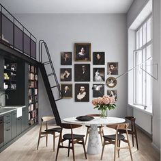 framed and unframed art wall