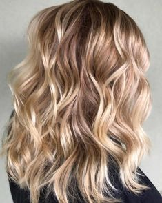 "956 Likes, 17 Comments - Amy (@camouflageandbalayage) on Instagram: ""Rooted Champagne  Blonde Paul Mitchell The Color 6Pn 6Cb 20 vol Balayage Hilites// Oligo Clay…"""
