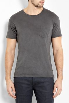Indigo Hand Dyed T-Shirt by Marc by Marc Jacobs  #PackforParadise Enter Here: http://budurl.com/PackforParadise