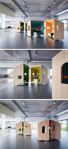 google's new amsterdam offices are extremely dutch | business design, Möbel