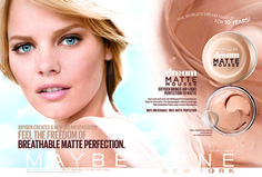 New Maybelline ad (product only) shot by Keate, 2014.