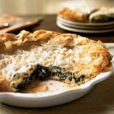 Greek Greens and Sweet Onion Pie | MyRecipes.com